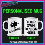 SKATE BOARDING BOARDER COFFEE MUG GREAT GIFT